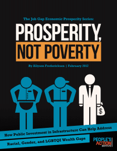 Prosperity Not Poverty cover