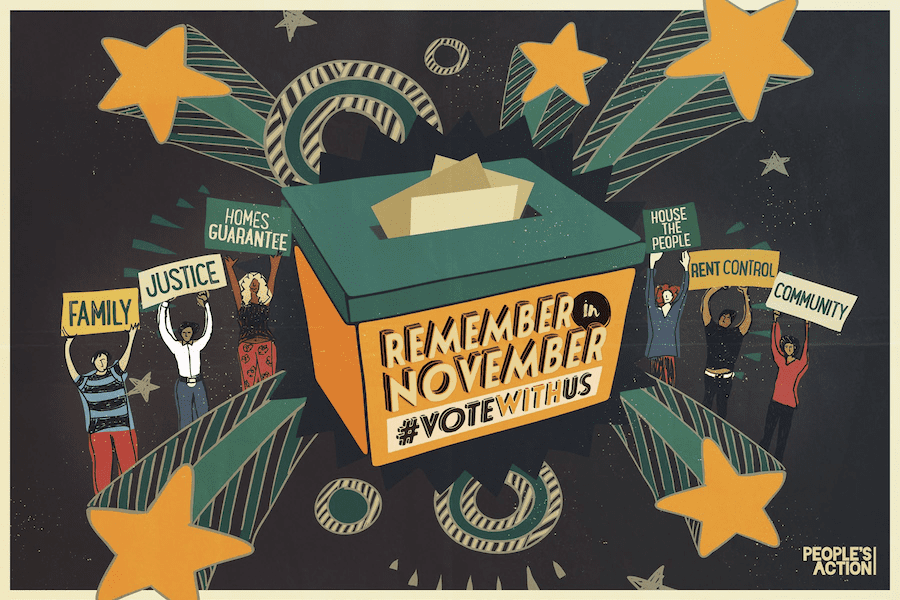 Remember in November Postcard (housing)