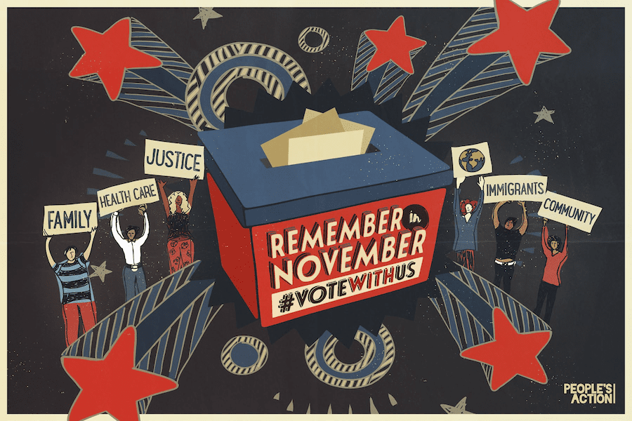 Remember in November Postcard (main)