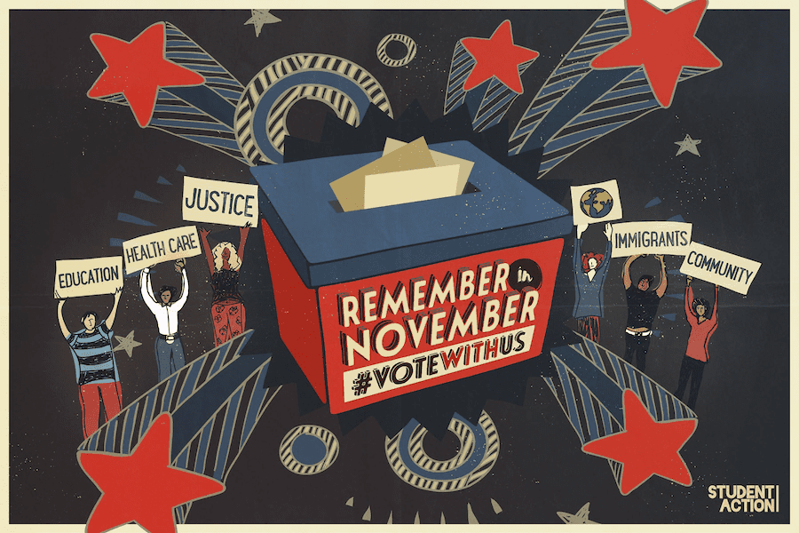 Remember in November (student action)