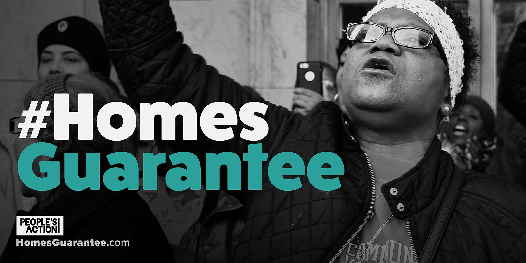 #HomesGuarantee