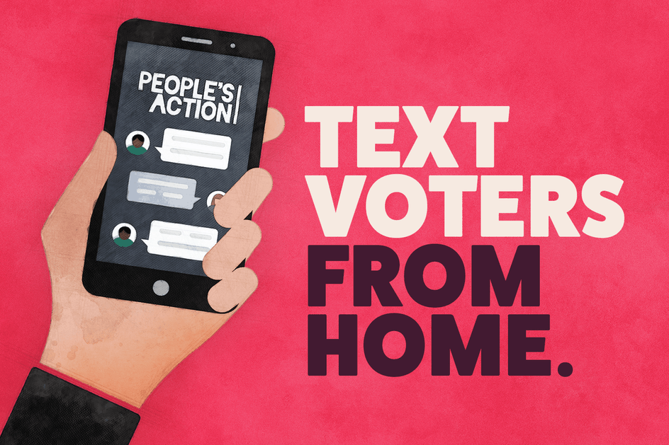 Text Voters from Home